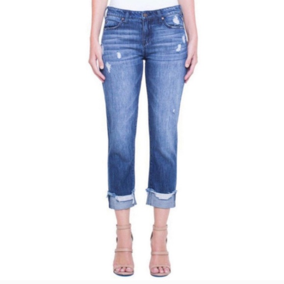 Liverpool Jeans Company Denim - Liverpool Kennedy Crop Jeans